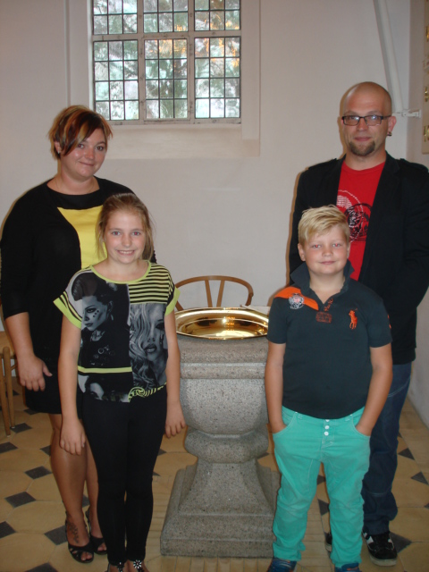 Dåb i Lyngså kirke