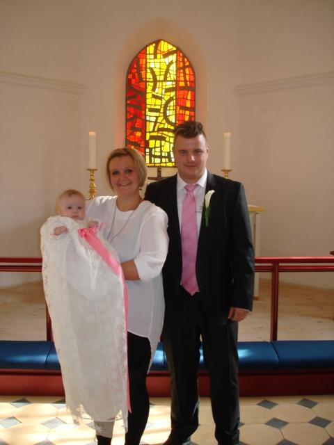 Dåb og vielse den 28. september i Lyngså kirke