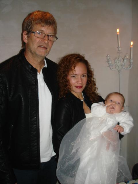 Dåb i Albæk kirke den 26. oktober 2014