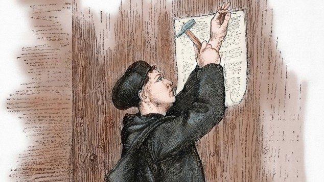 Sogneaften om Luther i Lyngså kirkehus