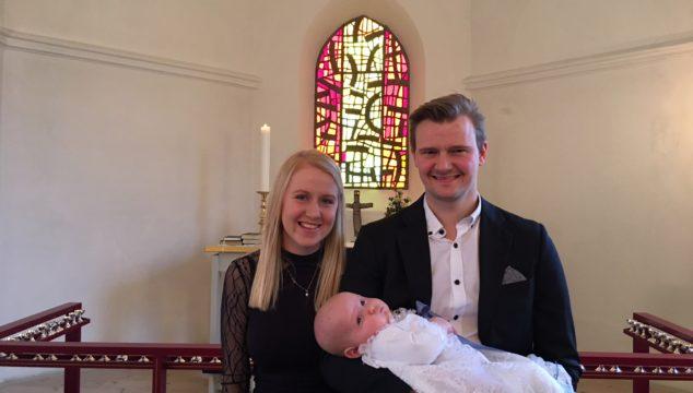 Dåb i Lyngså kirke den 4. februar 2018