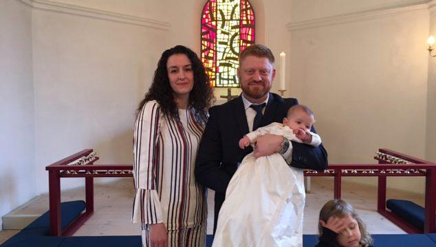 Dåb i Lyngså kirke 4. februar 2018