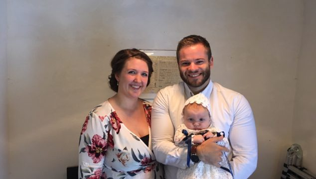 Dåb i Albæk kirke