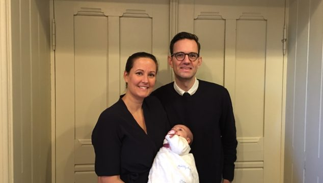 Tillykke med dåben til Karla