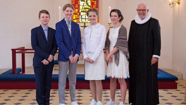 Konfirmation i Lyngså kirke